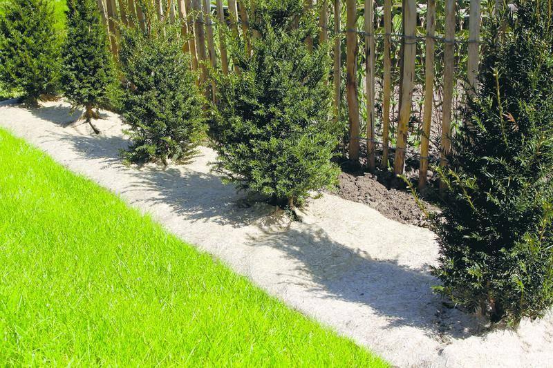 Paillage naturel 95 x 500 cm - pour jardin et potager 100% biodégradable - 750 g/m2