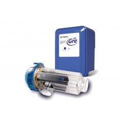 Electrolyse au sel pour piscines enterrées et hors-sol jusqu'à 90m3 de marque GRE POOLS, référence: J5361700