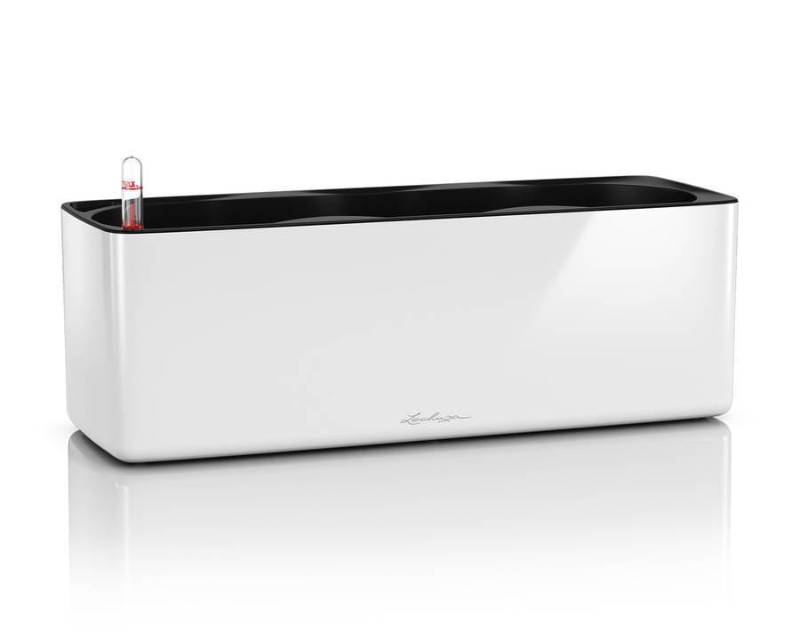 CUBE Glossy Triple - 40x14x14 cm - Kit Complet, blanc ultra brillant