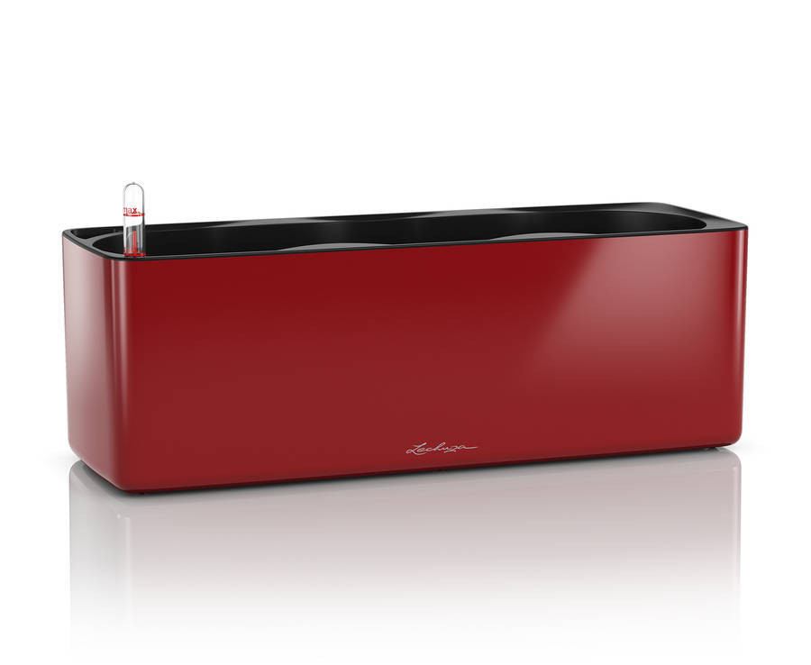 CUBE Glossy Triple - 40x14x14 cm - Kit Complet, rouge scarlet ultra brillant