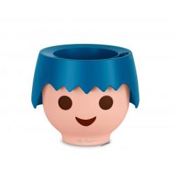 Pot OJO - Kit Complet, bleu océan  - 21 × 21 × 15,75 cm de marque LECHUZA, référence: J5367200
