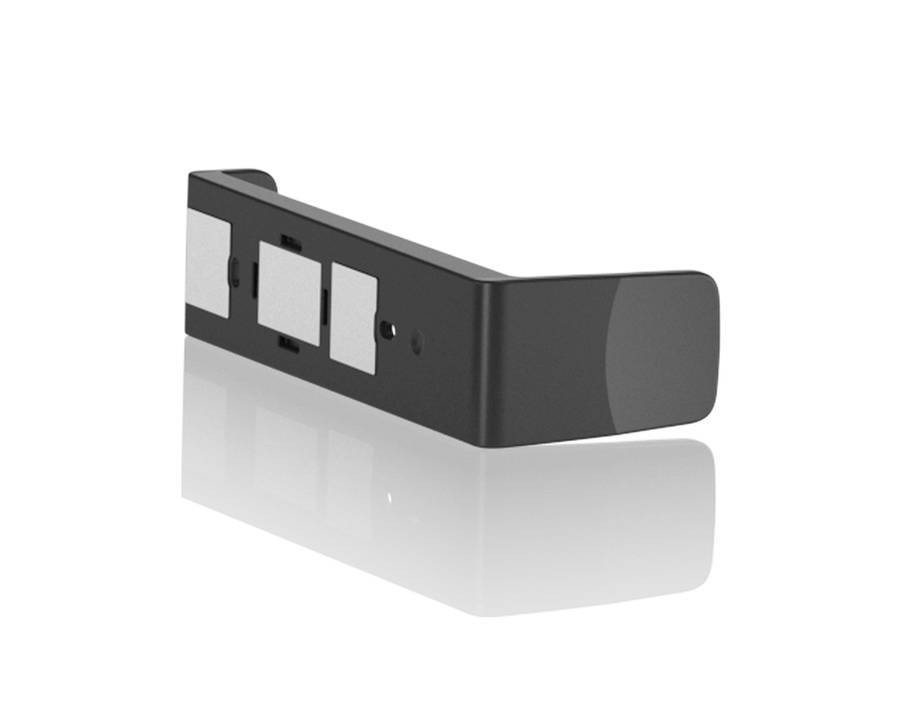 Support magnétique Cube Glossy, noir