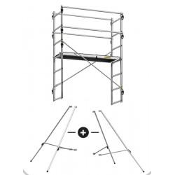 Réhausse pour échafaudage - jusqu'à 2 m supplémentaires de marque CENTAURE , référence: B4620900