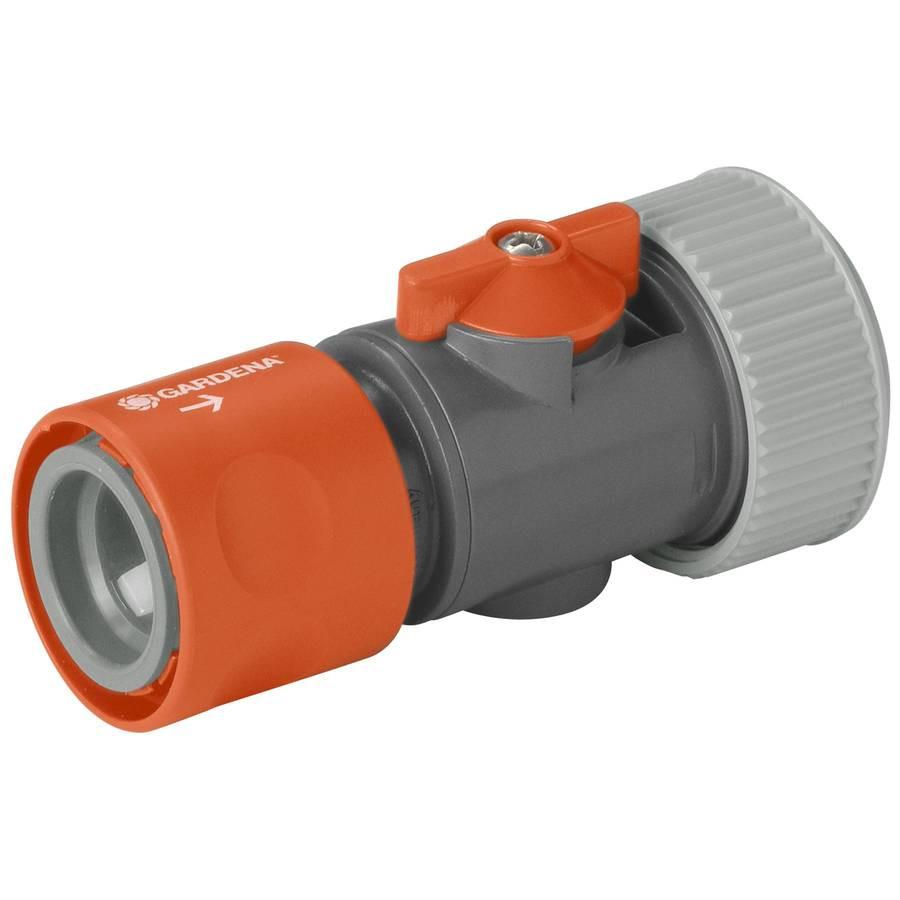 Raccord régulateur pour tuyau ø int. 19 mm