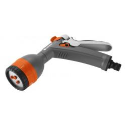 Pistolet multi-applications - jet concentré, plat, pluie et pluie fine de marque GARDENA, référence: J5397700