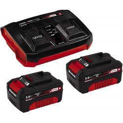 Starter Kit Power X Change - Double Chargeur rapide 36V 2x3,0 Ah de marque EINHELL , référence: B5407800
