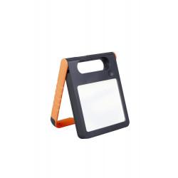 Lampe à poser Orange PADLIGHT, LED Intégrée, 2W, 200 lumens, 4000K, IP44, SOLAIRE, Classe III de marque CALI, référence: B5464500