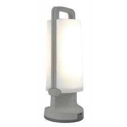 Lampe à poser Gris Argenté DRAGONFLY, LED Intégrée, 1W, 120 lumens, 4000K, IP54, SOLAIRE, Classe III de marque CALI, référence: B5464600