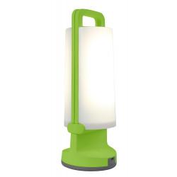 Lampe à poser Verte DRAGONFLY, LED Intégrée, 1W, 120 lumens, 4000K, IP54, SOLAIRE, Classe III de marque CALI, référence: B5464800