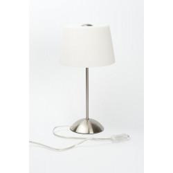Lampe à poser Acier Brossé Tokio, E14, 40W, IP20, 230V de marque CALI, référence: B5469100