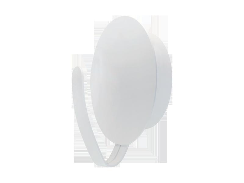 Applique Blanc Sat, Led inclue 9W, IP20, 230V AC, Classe I