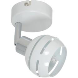 Applique Blanc & Chrome Selma, 1x G9-28W, IP20, 230V, Classe I de marque Britop, référence: B5476100