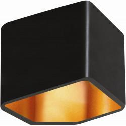 Applique Noire & Dorée Space, LED 6W, IP20, 230V, Classe I de marque Britop, référence: B5476300