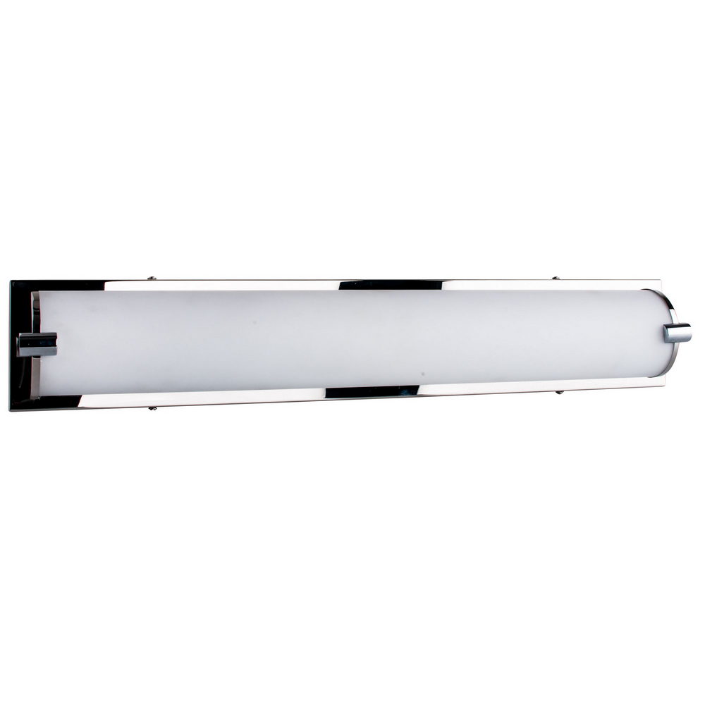 Applique Chrome & Blanc Romy, LED intégrée 27W, 2400 lm, 3000K, IP20, 230V,Classe I
