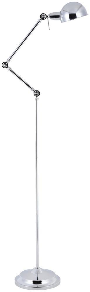 Lampadaire Chrome Kadina, 1xE27 Max 60W , IP20, 230V AC, Classe II