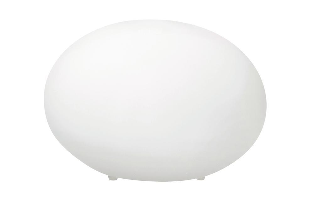 Lampe à poser Blanc Kala, 1xE14 Max 40W , IP20, 230V AC, Classe II