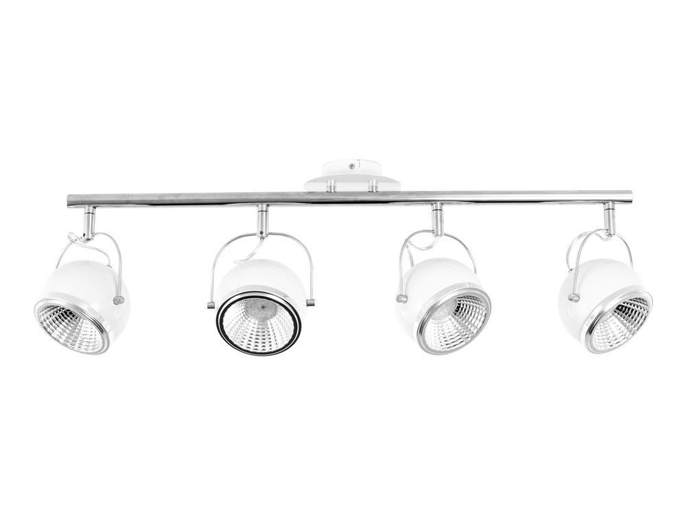Plafonnier Blanc Ball, Led inclue 4xGU10 5,5W , IP20, 230V AC, Classe I