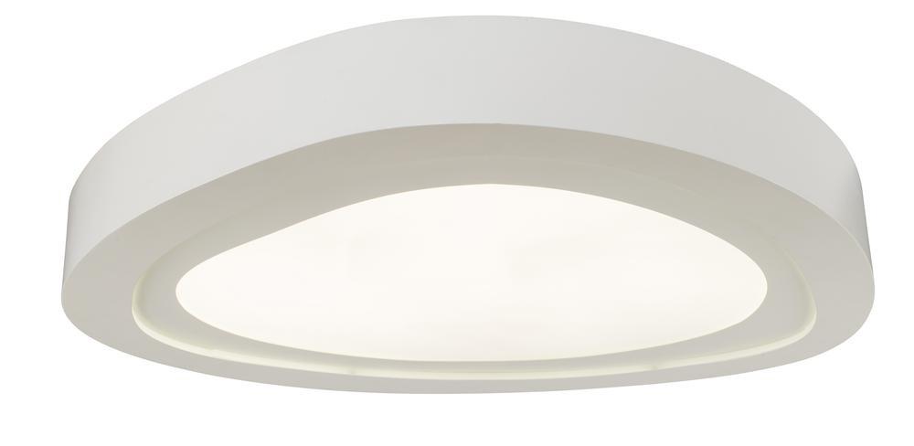 Plafonnier Blanc Cloud, LED intégrée 66W, 5280 lm, 3000K, IP20, 230V, Classe I