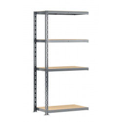 Extension étagère charge lourde MODULÖ - L. 100 cm - pour les petits/moyens cartons de marque Modulö Storage, référence: B5505200