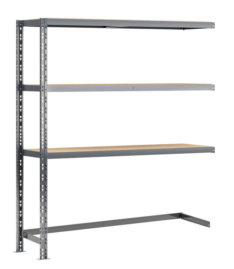 Extension étagère charge lourde MODULÖ - L. 150 cm - pour rangements volumineux