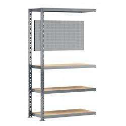 Extension établi-étagère charge lourde MODULÖ - L. 100 cm - pour établi de marque Modulö Storage, référence: B5505400