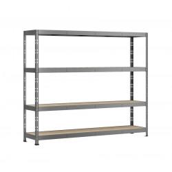Etagère Rack charge lourde - 4 plateaux - 220 x 40 cm de marque Modulö Storage, référence: B5505700