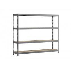 Etagère Rack charge lourde - 4 plateaux - 220 x 50 cm de marque Modulö Storage, référence: B5506000