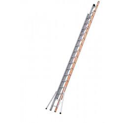 Echelle PRONOR COULISSE CORDE 2 PLANS - 8M01 - 2X16 de marque Tubesca-Comabi, référence: B5515200