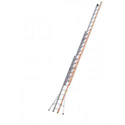 Echelle PRONOR COULISSE CORDE 3 PLANS - 8M57 - 3X12 de marque Tubesca-Comabi, référence: B5515300