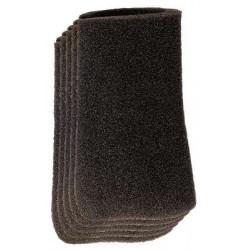 Set de 5 filtres pour aspirateur eaux et poussières de marque EINHELL , référence: J5536400