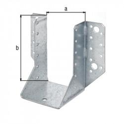Support U ailes  extérieur galva zinguée sendzimir 76x152 de marque GAH ALBERTS, référence: B5533500
