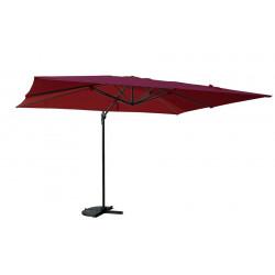 Parasol déporté rectangle SAINT TROPEZ - Bordeaux de marque CHALET & JARDIN, référence: J5543400