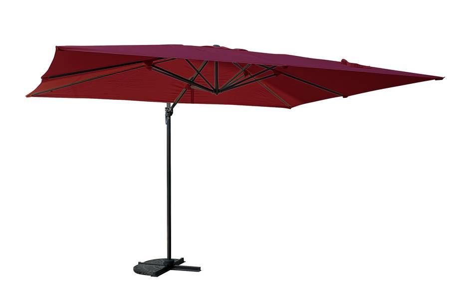 Parasol déporté rectangle SAINT TROPEZ - Bordeaux