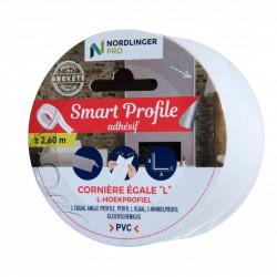 Smart profile - Cornière égale - l 2,5 x h 2,5 cm de marque Nordlinger, référence: B5547200