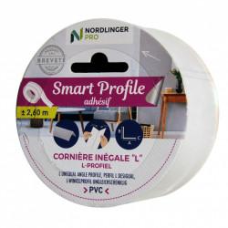 Smart profile - Cornière inégale - l 1,9 x h 1,1 cm de marque Nordlinger, référence: B5547700