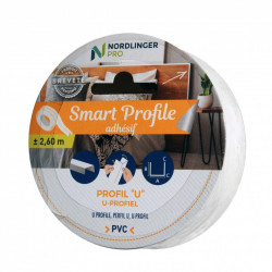 Smart profile - U Carré l 1 x h 1 cm de marque Nordlinger, référence: B5548100