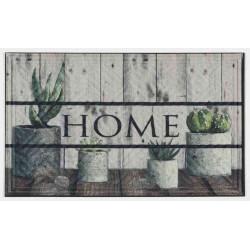 Tapis abrité brossant - halifax cactus - 75x45 cm de marque Coryl, référence: B5552600