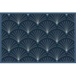 Tapis déco intérieur absorbant éco responsabe - vertueux eventail - 75x50 cm de marque Coryl, référence: B5559200