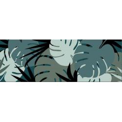 Tapis déco intérieur absorbant - feuillage - 150x50 cm de marque Coryl, référence: B5557800