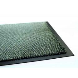 Tapis intérieur Queyras vert - 78x58 cm - absorbant et anti poussière de marque Coryl, référence: B5562000