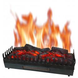 Foyer à buches avec effet flammes et chauffage XL de marque CHEMIN'ARTE, référence: B5565700