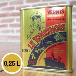 Vernis transparent - 0,25 L de marque Le Tonkinois, référence: B5566400