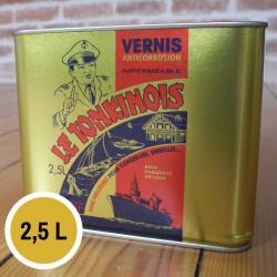 Vernis transparent - 2,5 L de marque Le Tonkinois, référence: B5566700