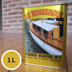 Vernis Marine n°1 transparent - 1 L de marque Le Tonkinois, référence: B5567000