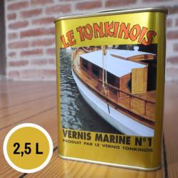 Vernis Marine n°1 transparent - 2,5 L de marque Le Tonkinois, référence: B5567100