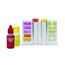 Trousse d'analyse Cl - pH - Gamme ECO de marque GRE POOLS, référence: J1091500