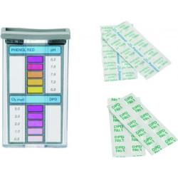 Trousse analyse pastille Ph et Chlore de marque GRE POOLS, référence: J1097000