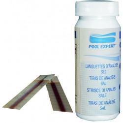 Bandelettes d'analyse taux de sel de marque GRE POOLS, référence: J1097800