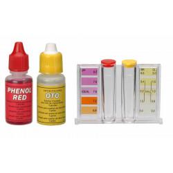 Trousse d'analyse liquide ph/chlore de marque GRE POOLS, référence: J5358800