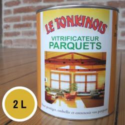 Vernis pour parquet transparent - 2 L de marque Le Tonkinois, référence: B5566900